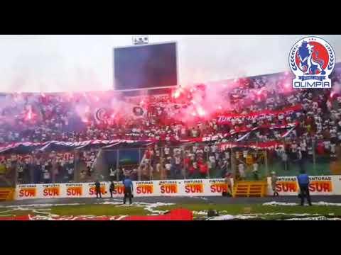 """La Ultra Fiel - Clásico contra Motagua 2019"" Barra: La Ultra Fiel • Club: Club Deportivo Olimpia • País: Honduras"