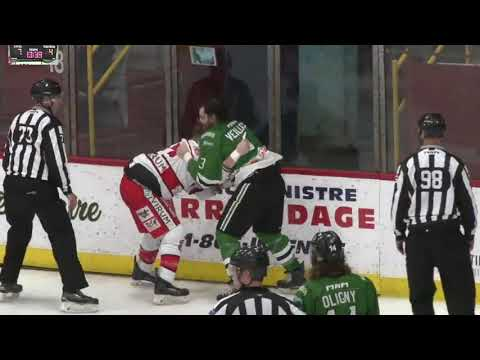 Chris Cloutier vs. Guillaume Veilleux