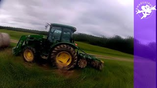 Tractor Flight FPV - Hay Bale Dance - Playing in the Country - Freestyle Acro Drone - 3 Inch Sub250g