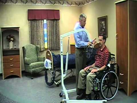 Image of How to Use - Hydraulic Patient Lift video