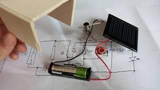 Automatische Solar Lampe Schaltung #56