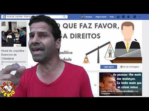 Wagnew o fiscal do Povo fala processo que ele venceu da Prefeitura de Juquitiba contra o as publicações do seu Mural no Facebook