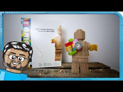 Vidéo LEGO Objets divers 853967 : Figurine en bois LEGO Originals
