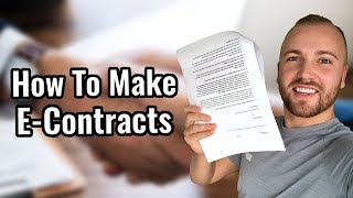 How To Create Social Media Marketing E-Contracts (And Take First Client Payment)