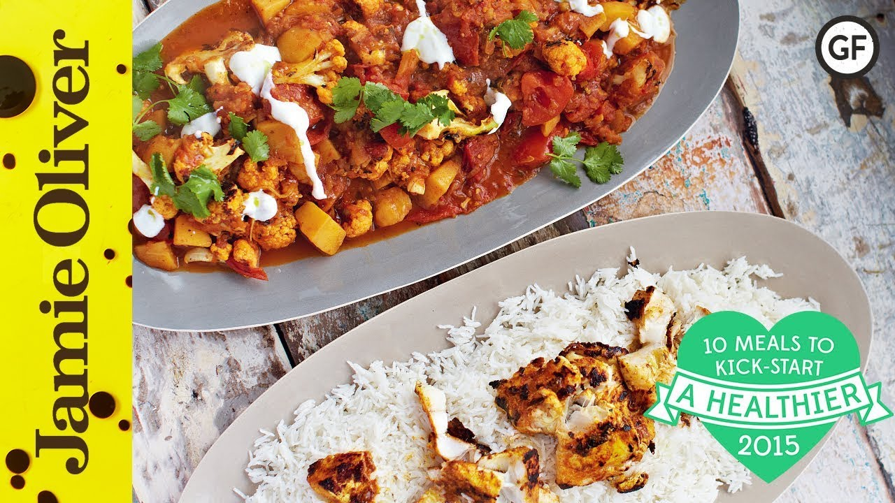 Food ideas for healthy eating - Healthy Fish Tikka Curry