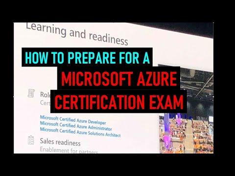 Prepare for a Microsoft Azure Certification Exam - YouTube