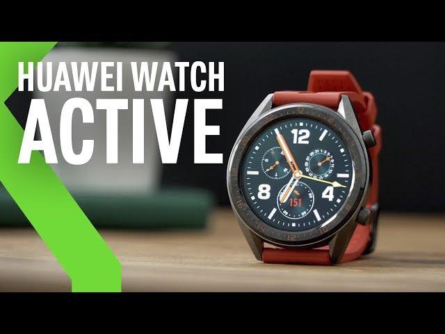 Huawei Watch GT Active, review: BATERÍA INFINITA para el smartwatch MÁS DEPORTIVO de Huawei