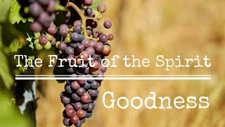 """The Fruit of the Spirit is Goodness!""; Scripture Readings: Genesis 1:20-23 and Galatians"