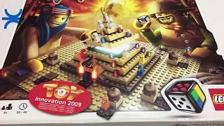 Lego Ramses Pyramid 3843 Game set Speed Build Video