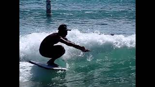 How to Stand up and Knee drop Bodyboard ( JUNE201 )