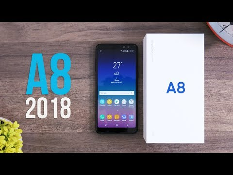 UNBOXING Samsung Galaxy A8 2018 Indonesia!