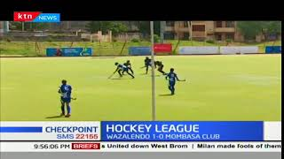 Strathmore University Men's Hockey team beats Nakuru Club Hockey team