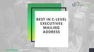 Buy C-Level Executive Email List From inboxCEO