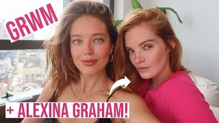 GRWM + Model Alexina Graham! Talking VS, Mental Health, Embarrassing Moments | Emily DiDonato
