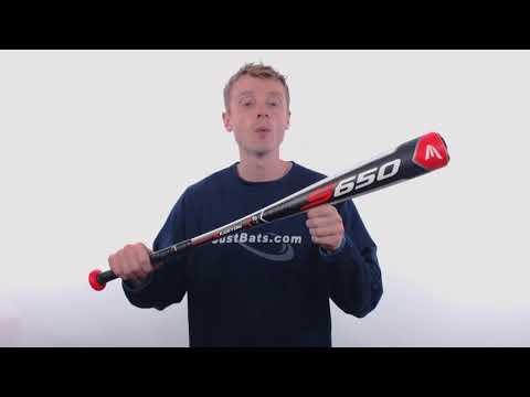 2018 Easton S650 -9 Senior League Baseball Bat: SL18S6509