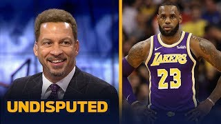 Chris Broussard reacts to LeBron and the Lakers' first win of the season | NBA | UNDISPUTED