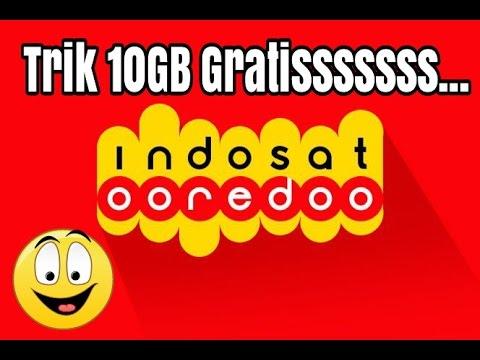 Video Trik Dapat 10GB Indosat Gratis Maret 2017