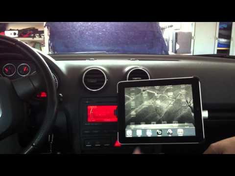 iPad Einbau in Audi A3 an BNS 5