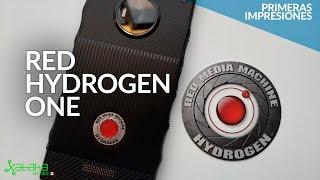 """Red Hydrogen One en México: PRIMERAS IMPRESIONES del smartphone con pantalla """"holográfica"""""""