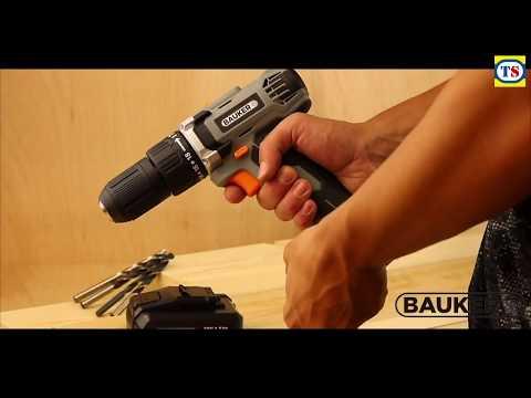 Bauker 18V Cordless Combi Drill