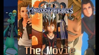 Kingdom Hearts 3 The Movie (Japanese Audio) - All Cutscenes