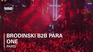 Brodinski B2B Para One - Live @ Boiler Room Paris 2015