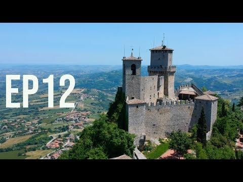 San Marino!! More wild-camping and Swiss border checks! (MAYhem '19 - Ep12)