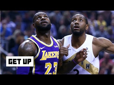 Kawhi is in play for the Lakers after the Anthony Davis trade - Damon Jones   Get Up
