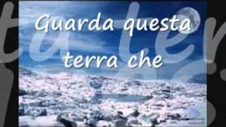 Andrea Bocelli - Canto Della Terra (with lyrics)