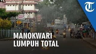 Warga di Manokwari Bakar Ban dan Blokade Jalan, Protes Tindakan kepada Mahasiswa Papua di Surabaya