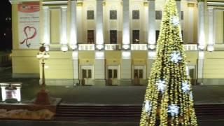 С новым, 2017 годом! Алматы, наш город