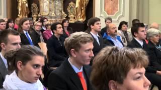 Předávání maturitních vysvědčení VOŠ a SPŠ Sumperk - 2015
