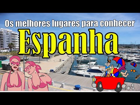 Os melhores lugares para conhecer na Espanha