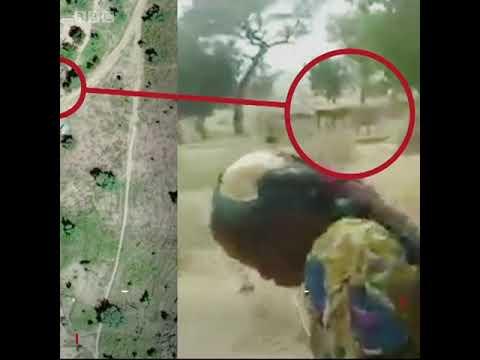 BBC Hausa - Bidiyon yadda sojojin Kamaru suka hallaka mata da yara