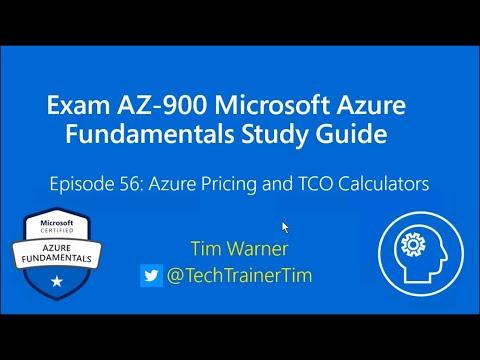 Exam AZ-900 Microsoft Azure Fundamentals Study Guide Episode ...