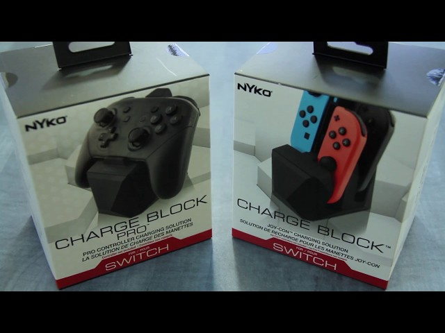 Nyko Releases Charge Block And Charge Block Pro For Nintendo Switch Today GAMING TREND