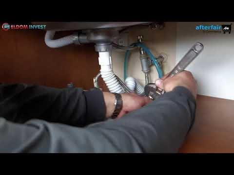 Montage Warmwasserspeicher Eldom 5-15 Liter untertisch