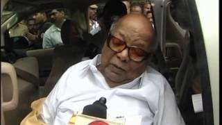 Kalaignar Paid Floral Tribute to Veerapandi Arumugam at Ramachandra Hospital