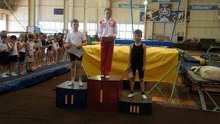 Соревнования по прыжкам на батуте г. Бугуруслан