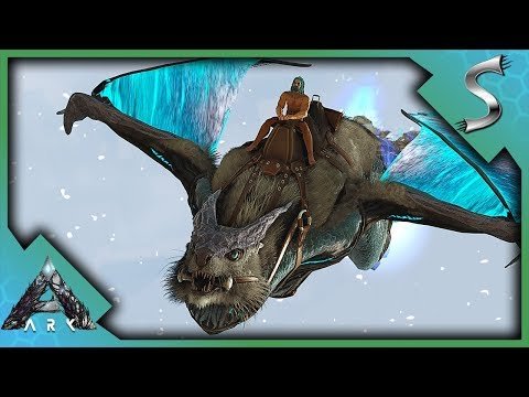 EASIEST TRAPPING EVER? MANAGARMR TAMING! - Ark: Extinction [DLC Gameplay E28]
