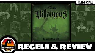 Villainous Brettspiel ( Disney ) Regeln und Rezension