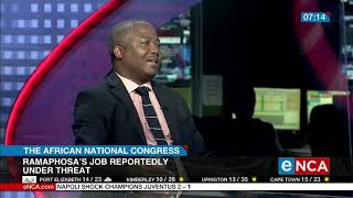 President Cyril Ramaphosa's job as president has long been reported to be under threat. Courtesy #DStv403