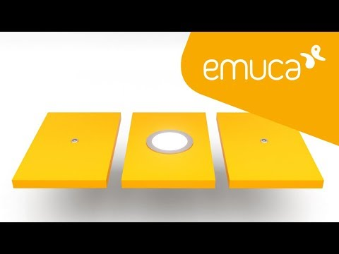 """How to mount a Point DOUBLE """"Switch"""" touch sensor with LED luminaires – Emuca"""