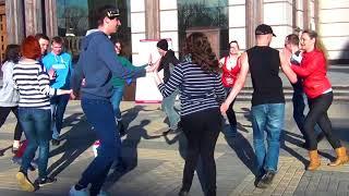 Rueda de Casino Multi Flashmob 2018 - Russia, Penza #ruedaflashmob2018