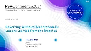 <strong>Quick Look: Governing without Clear Standards: Lessons Learned from the Trenches</strong>