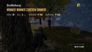 PUBG--Winner Winner Virgin Dinner