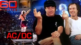 High voltage (1994) - One the road with AC/DC for a very rare interview | 60 Minutes Australia
