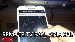 Hp Android Jadi Remote Tv Serbaguna