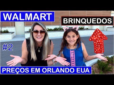 WALMART em ORLANDO #2 Compra de BRINQUEDOS com PREÇOS no Viajar Muda Tudo!