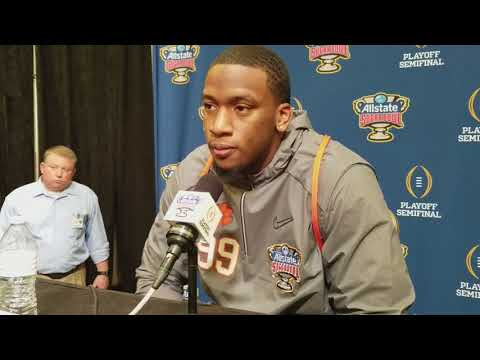Clelin Ferrell expects Alabama game to be grown man game